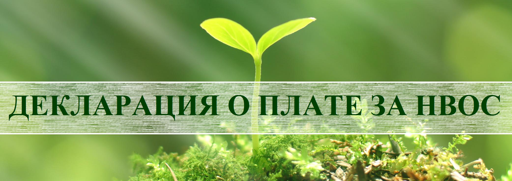 Утверждена декларация о воздействии на окружающую среду для владельцев «вредных» объектов II категории